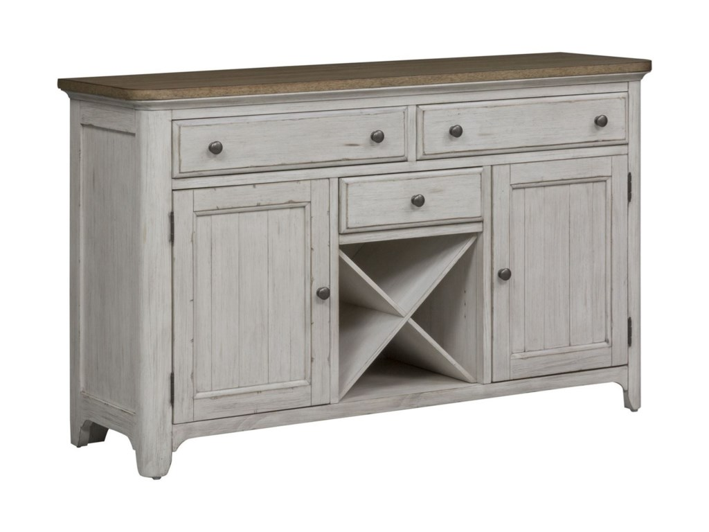 Liberty Furniture Farmhouse ReimaginedBuffet