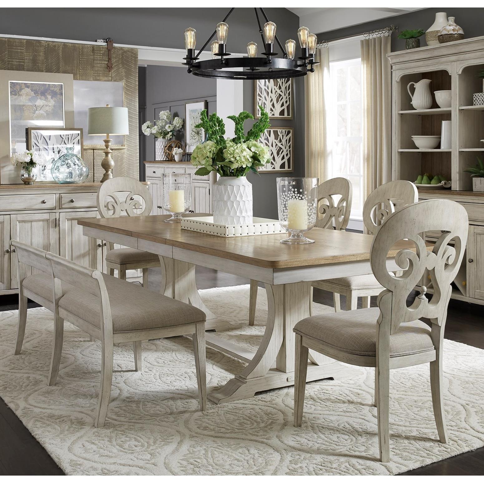 Beau Liberty Furniture Farmhouse ReimaginedDining Room Group