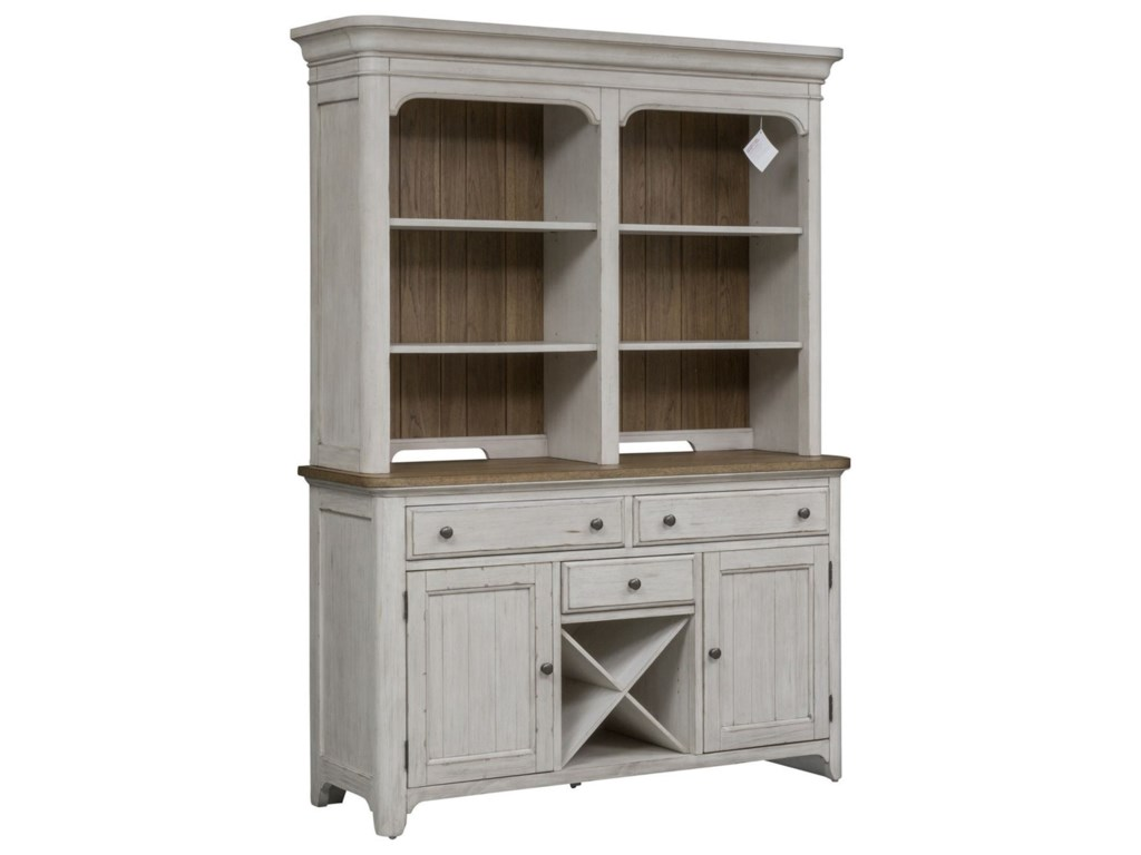 Liberty Furniture Farmhouse ReimaginedHutch & Buffet
