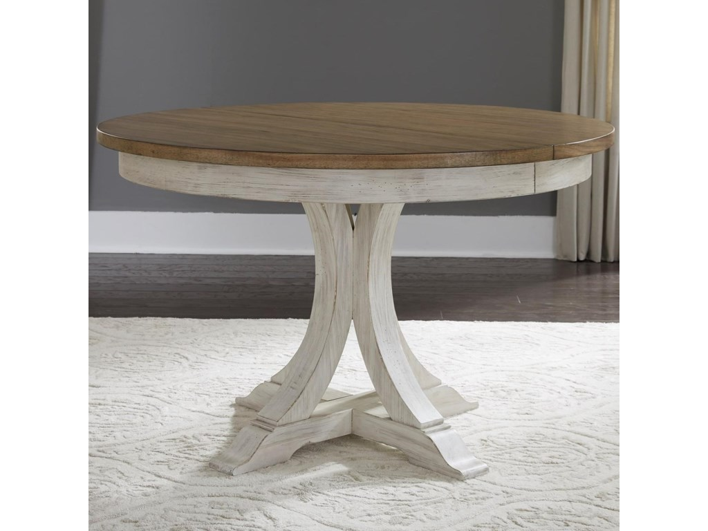 Liberty Furniture FarmingtonPedestal Table