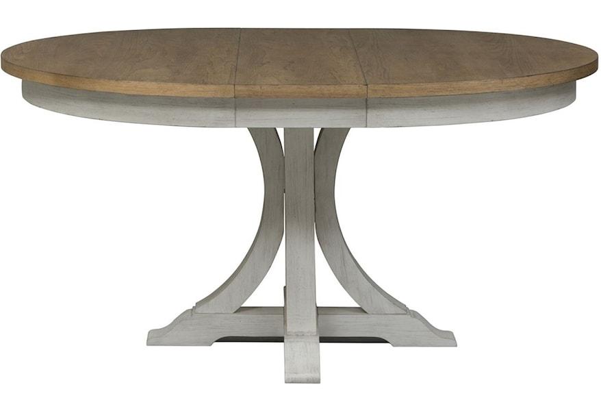 Farmhouse Reimagined Pedestal Table