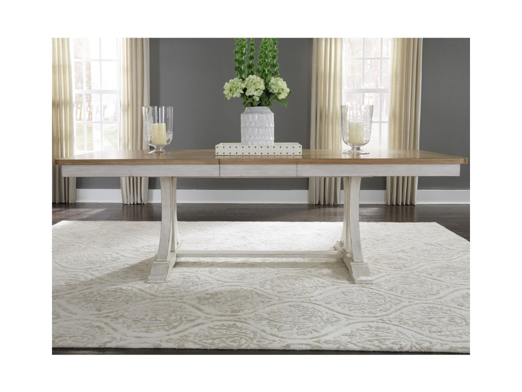 Liberty Furniture MaybellineTrestle Table