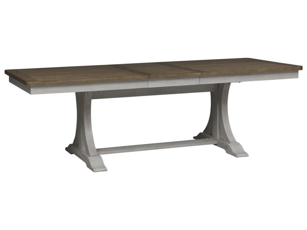 Liberty Furniture Farmhouse ReimaginedTrestle Table