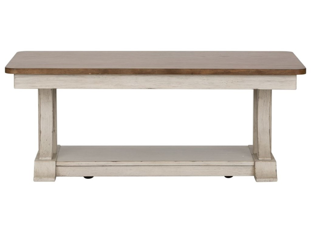 Liberty Furniture Farmhouse ReimaginedCocktail Table