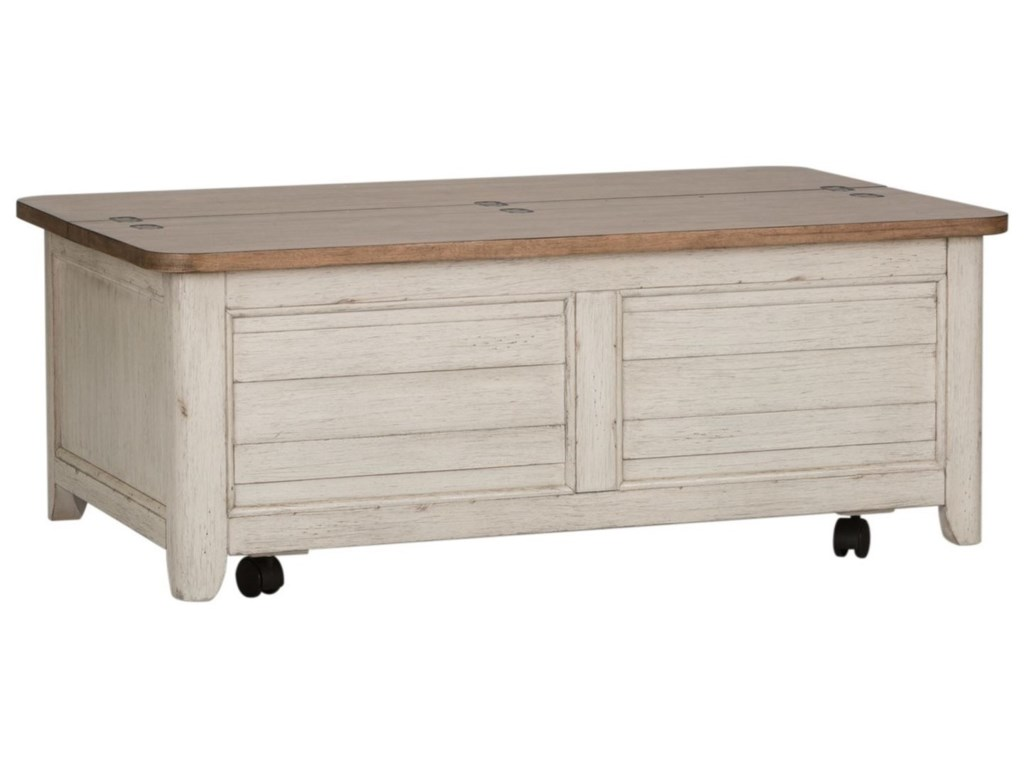 Liberty Furniture Farmhouse ReimaginedStorage Trunk