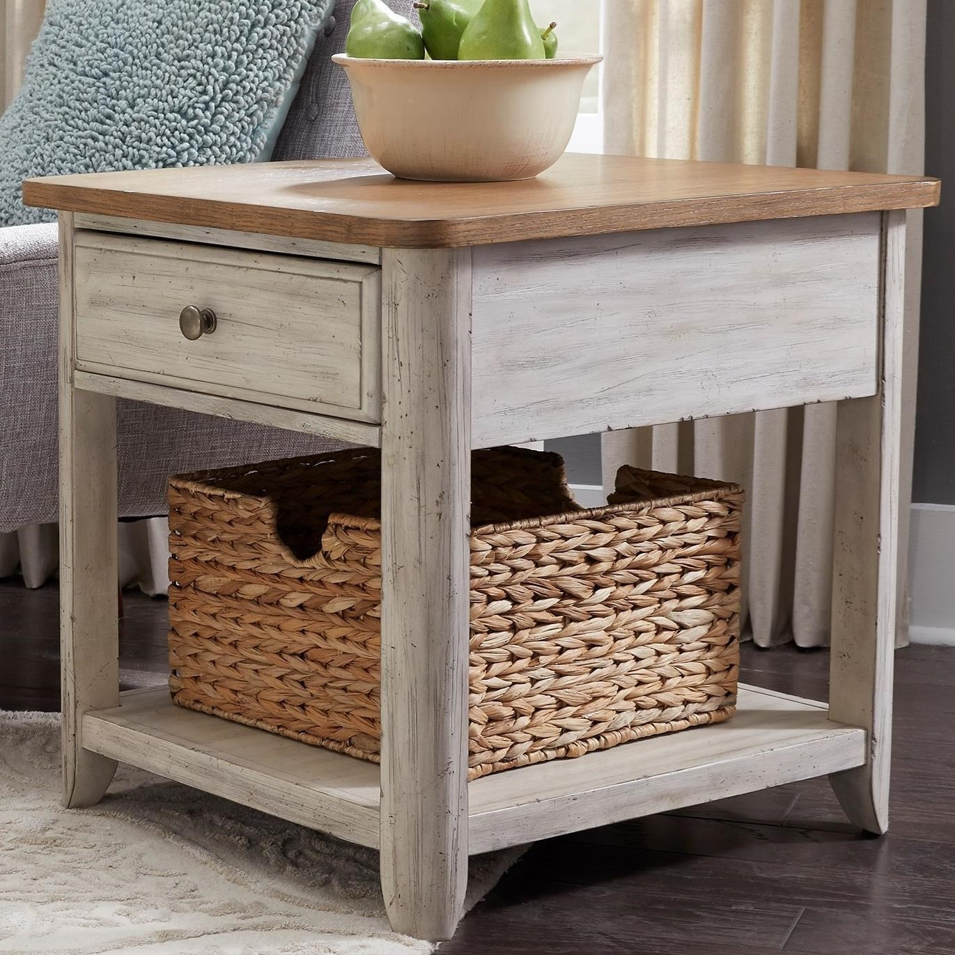 Genial Liberty Furniture Farmhouse ReimaginedEnd Table