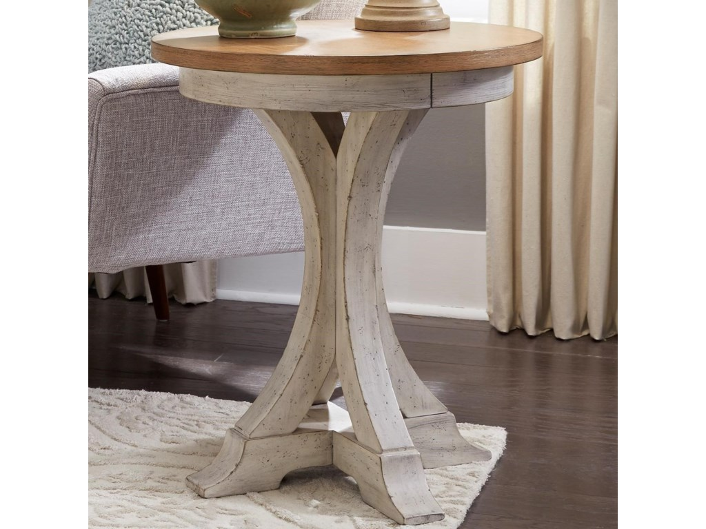 Liberty Furniture Farmhouse ReimaginedChair Side Table