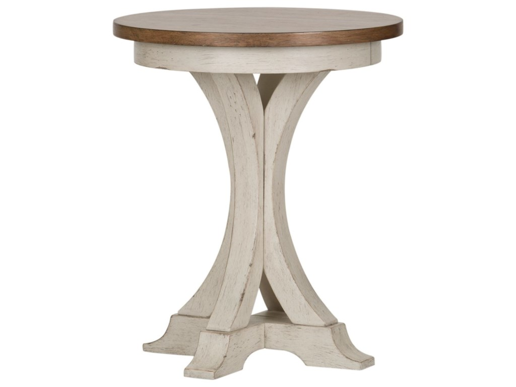 Liberty Furniture FarmingtonChair Side Table