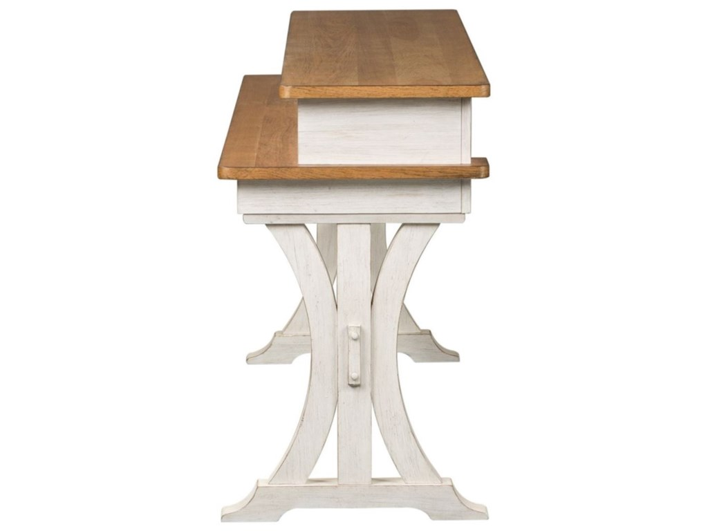 Liberty Furniture Farmhouse ReimaginedConsole Bar Table