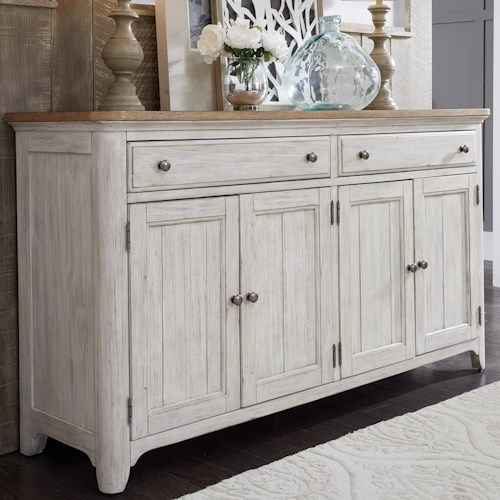 Liberty Furniture Farmhouse Reimagined Relaxed Vintage