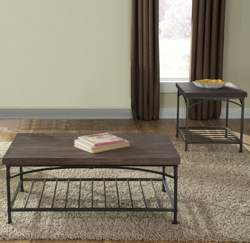 Liberty Furniture Franklin Three-Piece Occasional Table Set