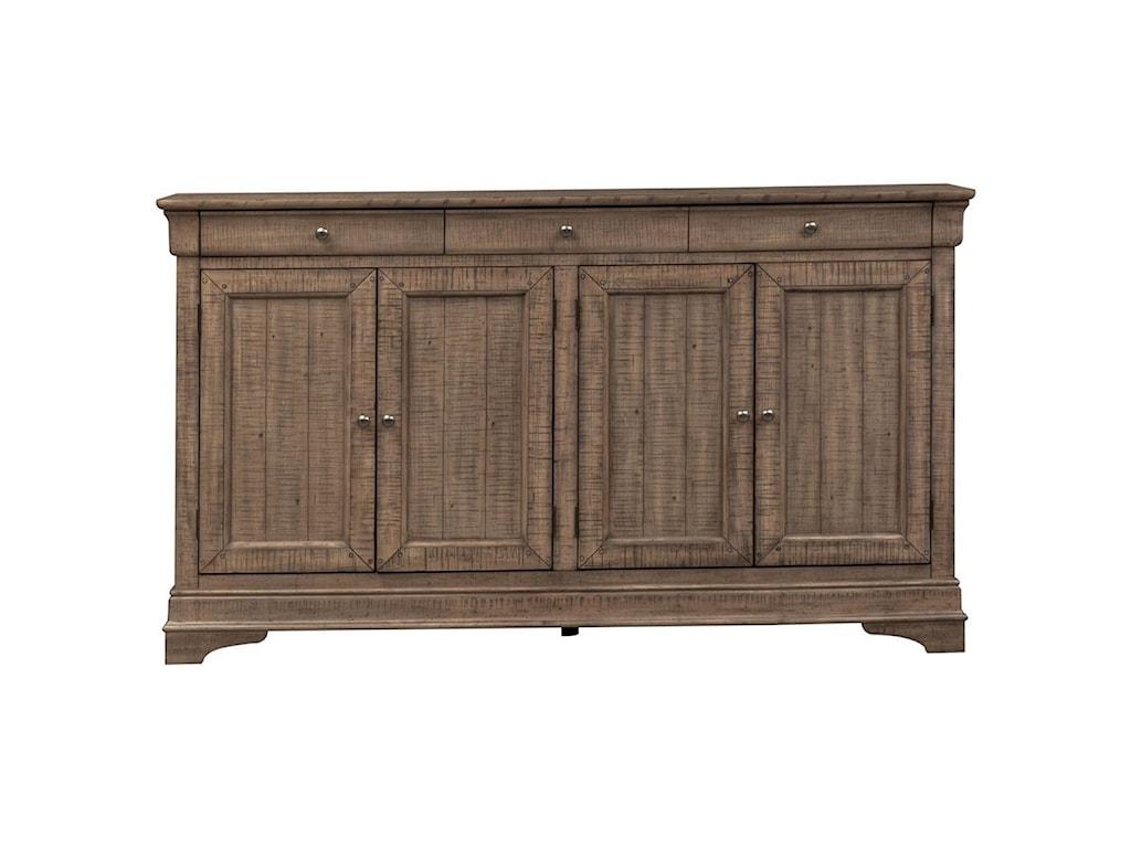 Liberty Furniture Gentry4 Door Accent Cabinet