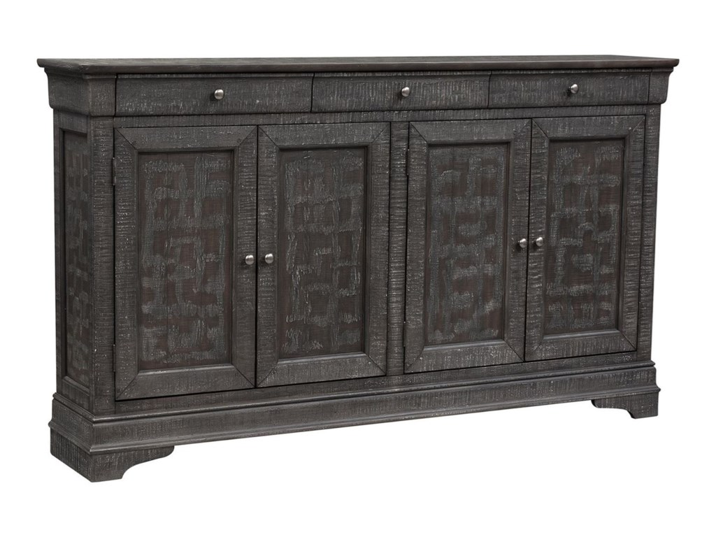 Liberty Furniture Gentry4 Door Accent Cabinet