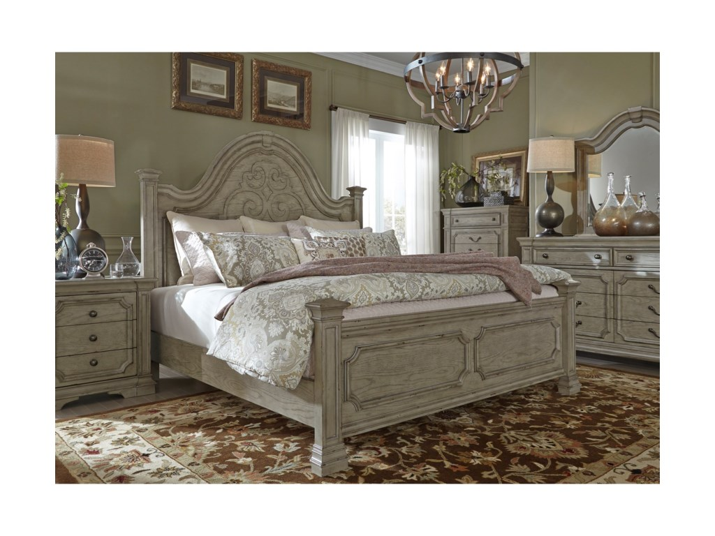 Liberty Furniture Grand EstatesKing Bedroom Group