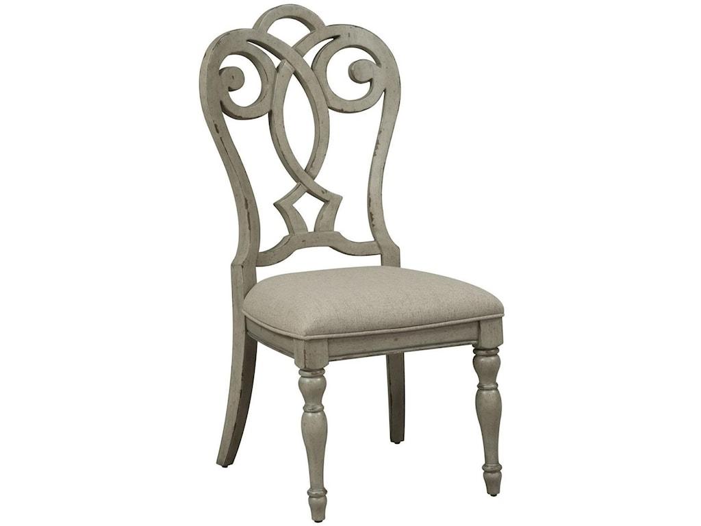 Liberty Furniture Grand EstatesSplat Back Side Chair