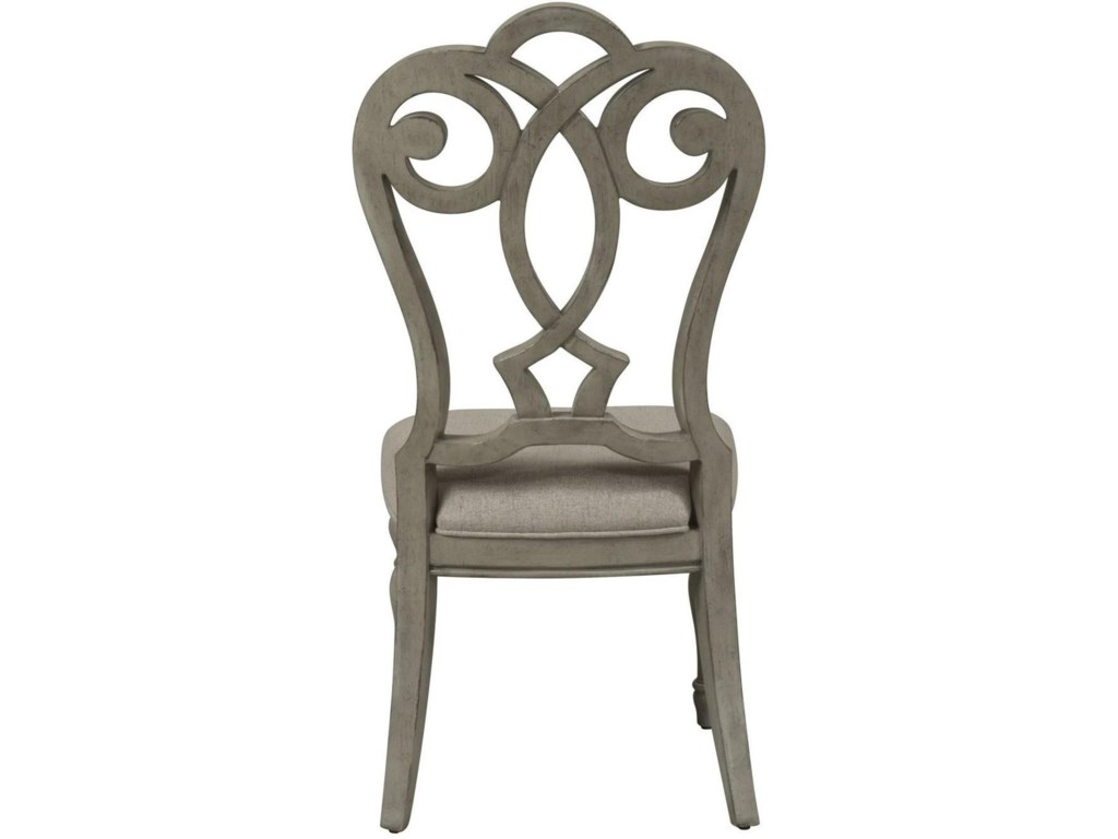 Liberty Furniture Grand EstatesSplat Back Side Chair