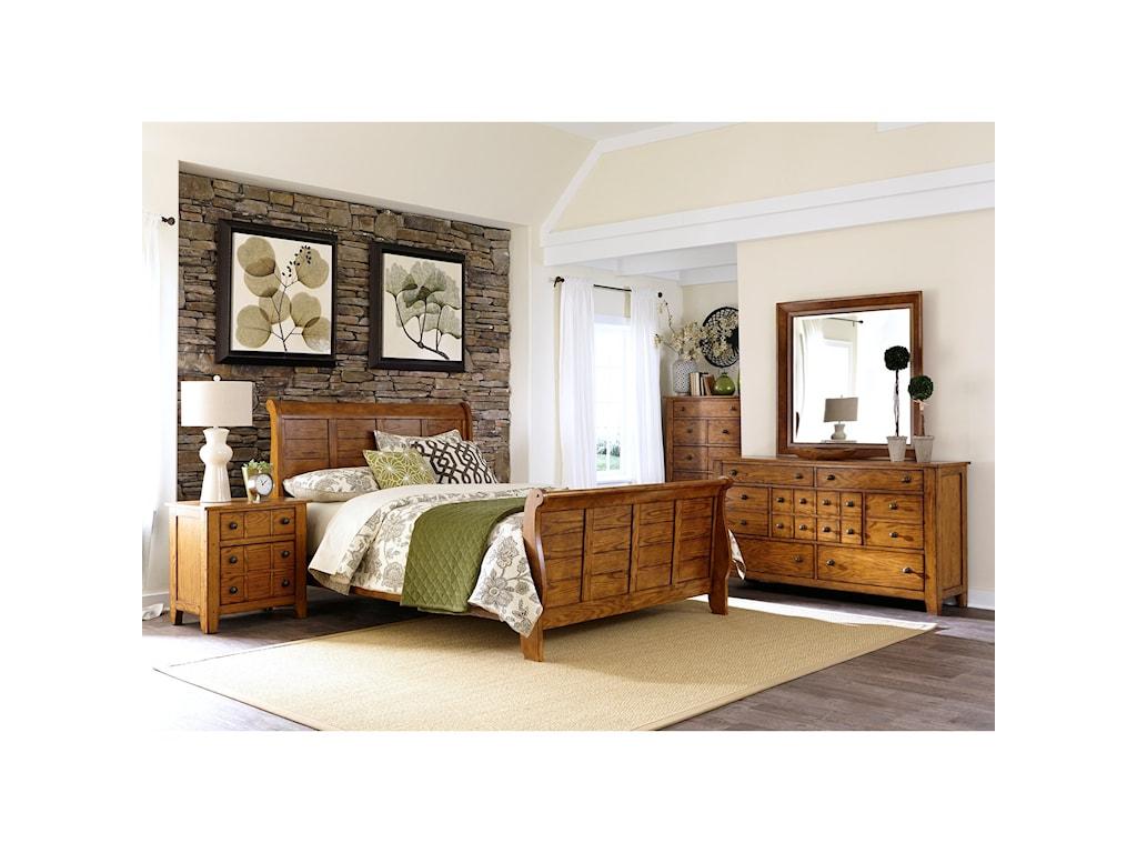 Liberty Furniture Grandpa's CabinKing Bedroom Group