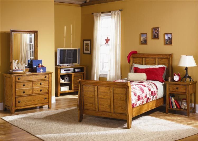 Liberty Furniture Grandpa's CabinTwin Sleigh Bed