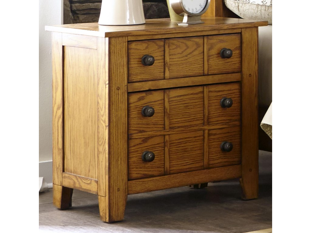 Liberty Furniture Grandpa's CabinDrawer Night Stand