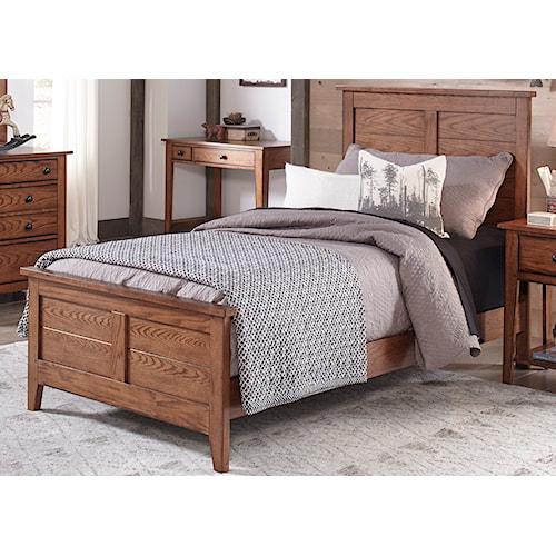Liberty Furniture Grandpa's Cabin Full Panel Bed