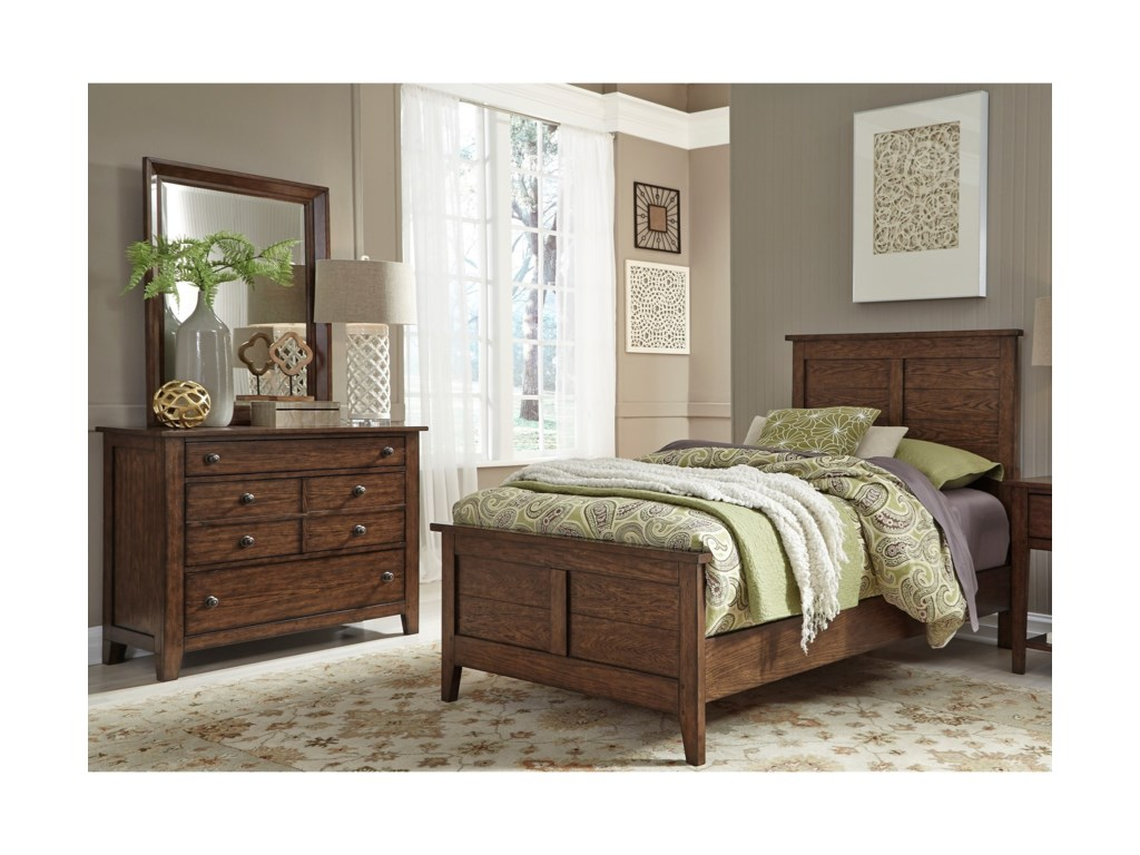 Liberty Furniture Grandpa's CabinFull Bedroom Group