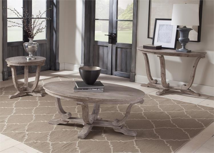 Liberty Furniture Greystone Mill3 Piece Set