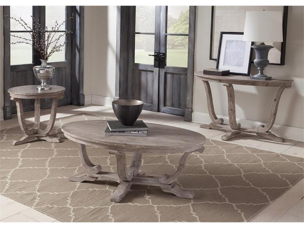 Liberty Furniture Greystone MillEnd Table
