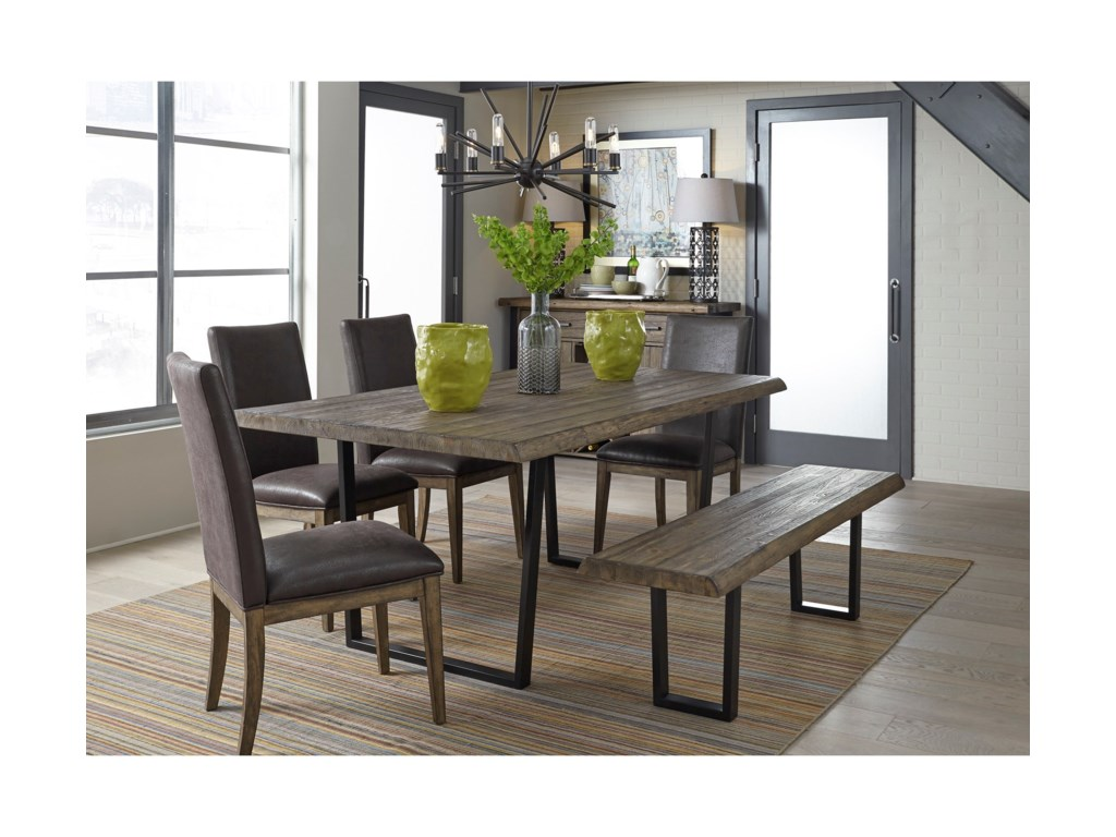 Liberty Furniture Haley Springs6 Piece Trestle Table Set