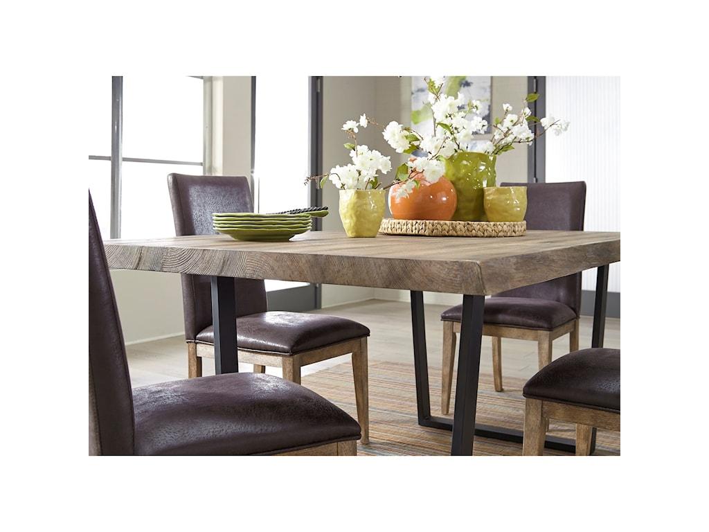 Liberty Furniture Haley Springs7 Piece Trestle Table Set