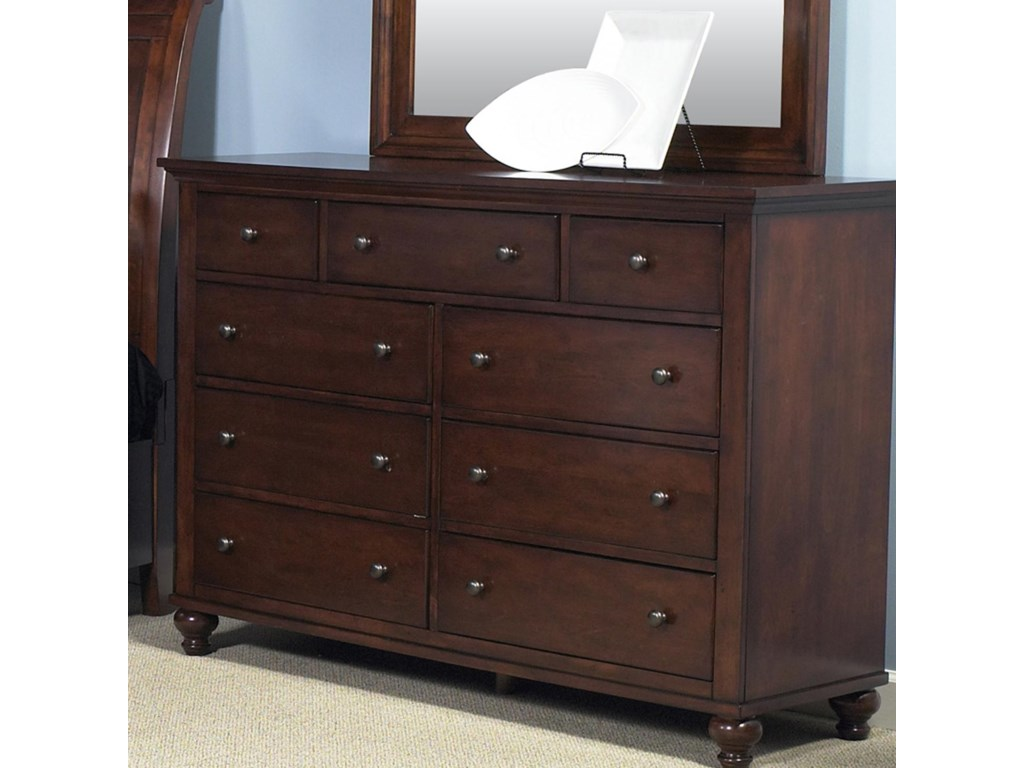 Liberty Furniture Hamilton Dresser & Mirror Set