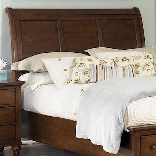Liberty Furniture Hamilton  Transitional Queen Sleigh Headboard