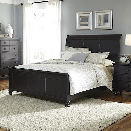 Liberty Furniture Hamilton III Transitional King Sleigh Bed