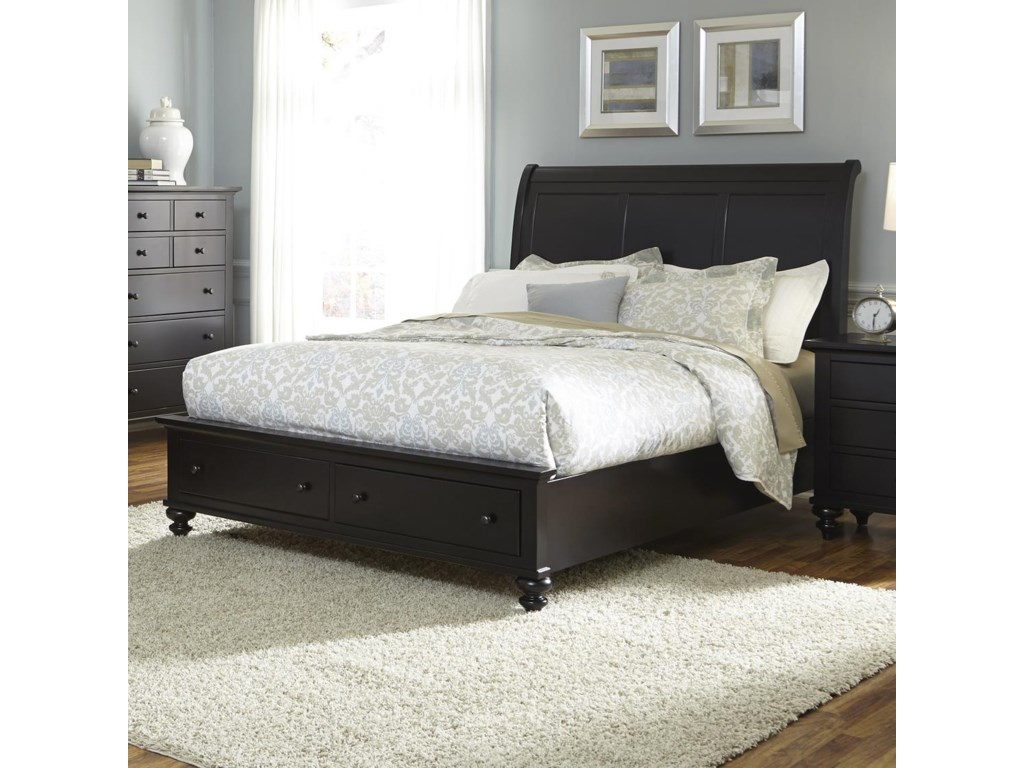 drawers design furniture trundle home stylish sleigh wooden with twin bed
