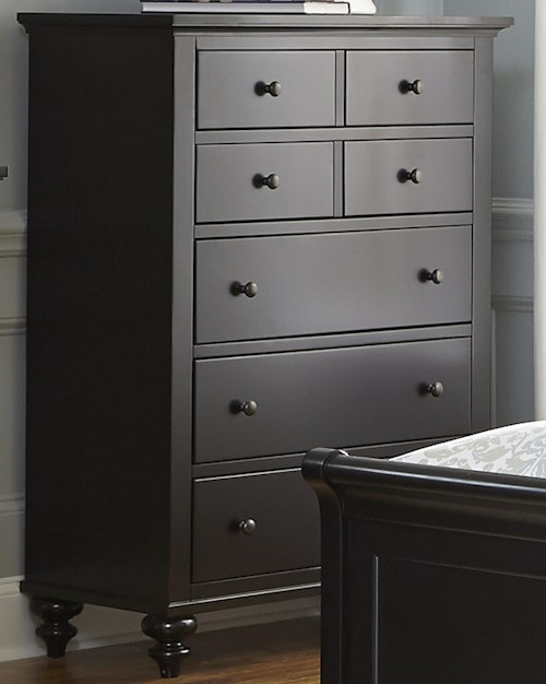 Liberty Furniture Hamilton III Transitional Five Drawer Chest