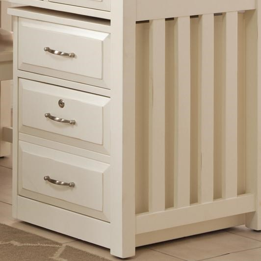 Liberty Furniture Hampton Bay - WhiteMobile File Cabinet