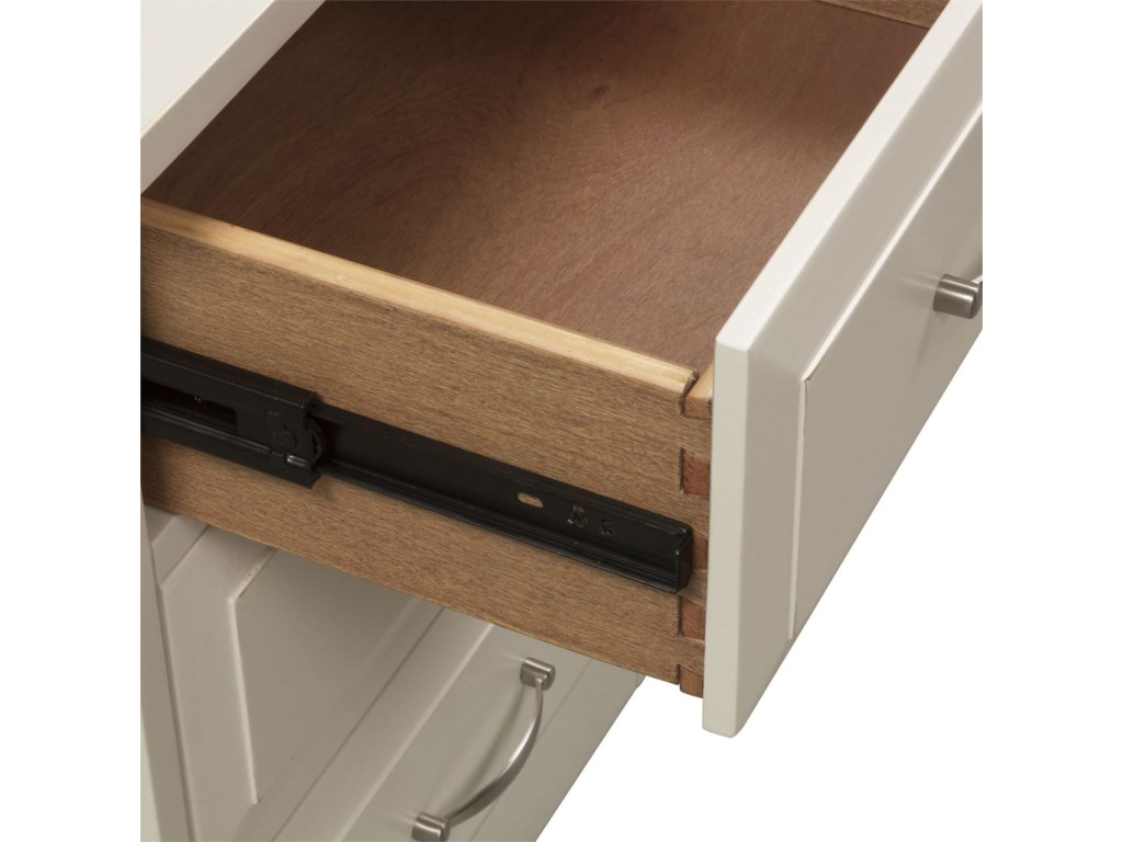 Liberty Furniture Hampton Bay - WhiteMobile File Cabinet
