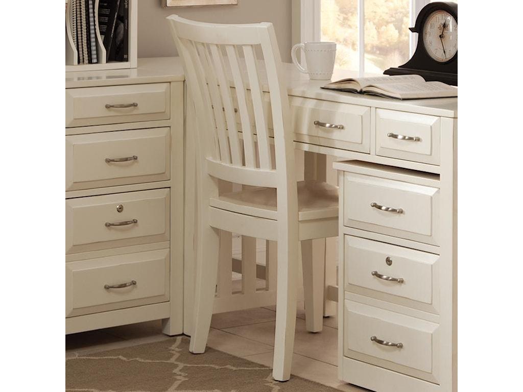Liberty Furniture Hampton Bay - WhiteOffice Side Chair