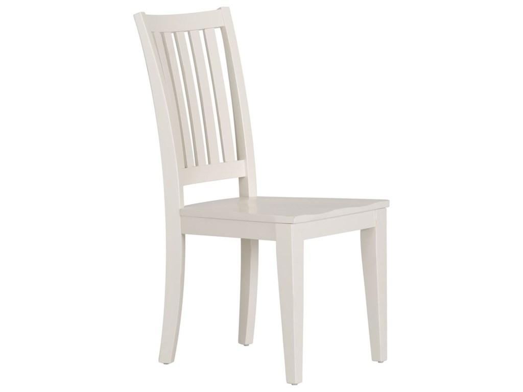 Liberty Furniture Hampton Bay - WhiteOffice Side Chair