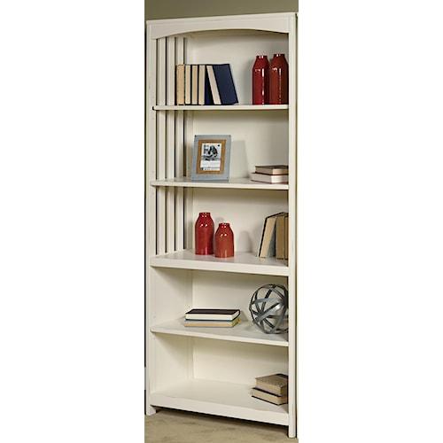 Liberty Furniture Hampton Bay - White Open Bookcase