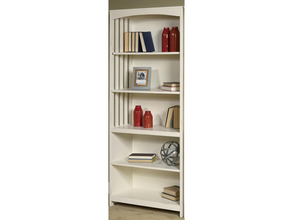 Liberty Furniture Hampton Bay - WhiteOpen Bookcase