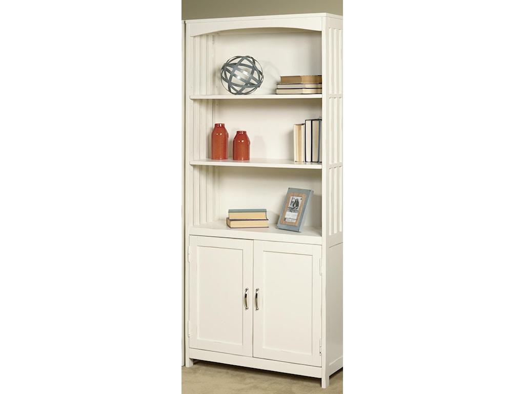 Liberty Furniture Hampton Bay - WhiteDoor Bookcase
