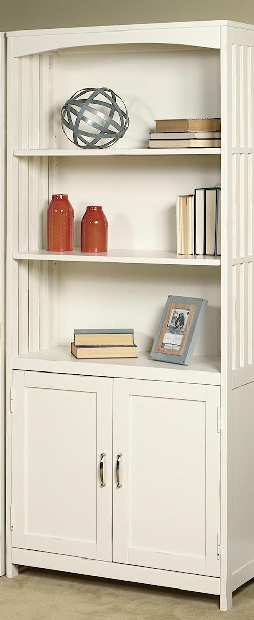 Liberty Furniture Hampton Bay - White Door Bookcase