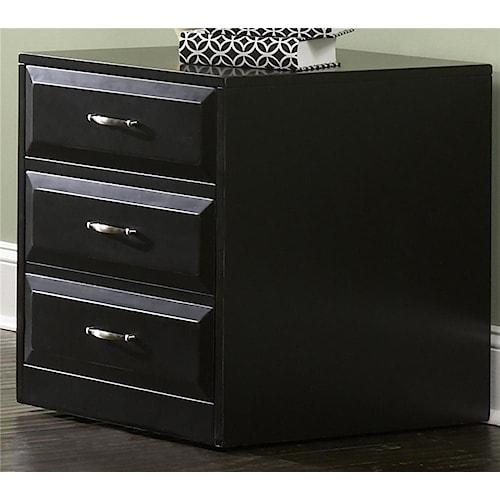 Liberty Furniture Hampton Bay  Mobile File Cabinet with File Drawer Locks