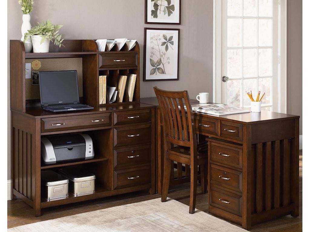Liberty Furniture Hampton Bay L-Shaped Desk
