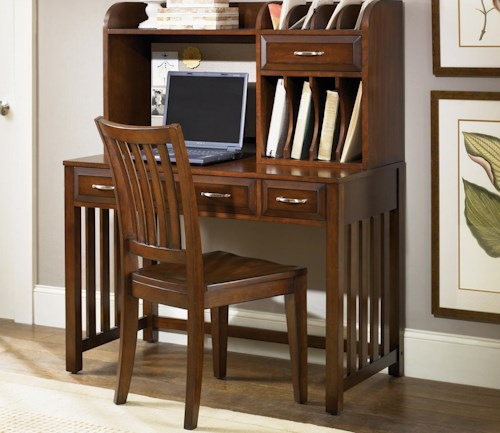 Liberty Furniture Hampton Bay  Home Office Desk with Hutch