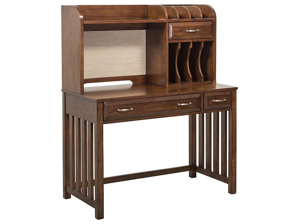 Liberty Furniture Hampton Bay Writing Desk and Hutch