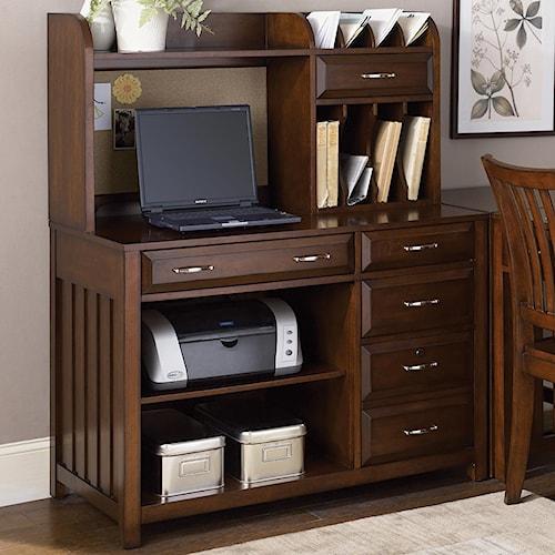 Liberty Furniture Hampton Bay  Credenza Desk and Hutch