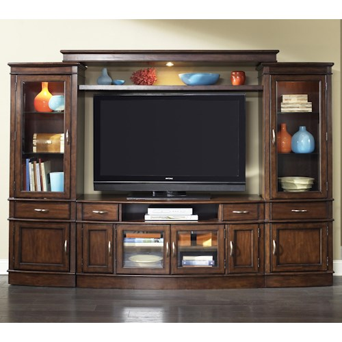Liberty Furniture Hanover Complete TV Entertainment Center
