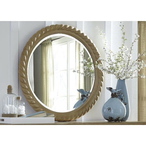 Liberty Furniture Harbor View Rope Mirror