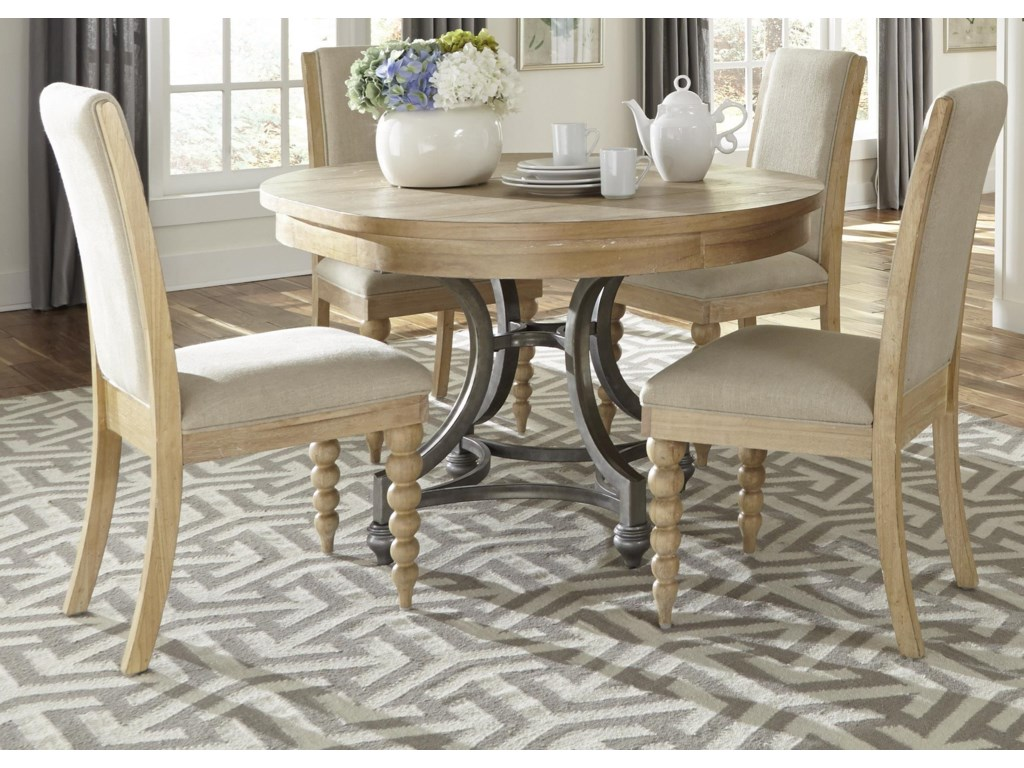 Liberty Furniture Harbor ViewRound Table Chair Set